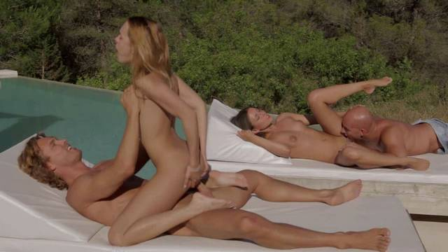 Our outdoor group sex on the vacation this year